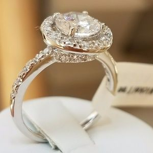 Jewelry - ON SALE 14k gold plated Engagement Ring